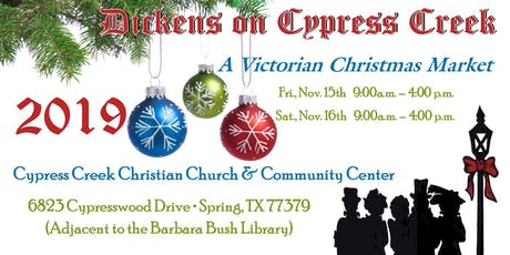 Dickens Market at Cypress Creek tickets