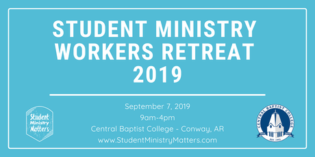 Student Ministry Workers Retreat 2019 tickets