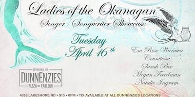 Ladies of the Okanagan Singer/ Songwriter Showcase