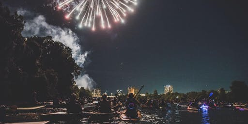 2019 July 4th Fireworks Paddle