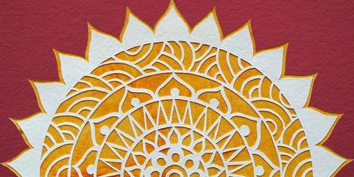 Paper Cut Mandala Art