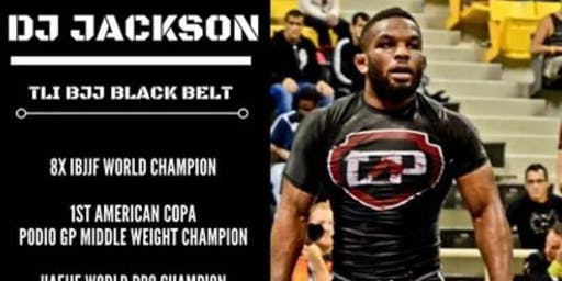 DJ Jackson Brazilian Jiu-Jitsu Seminar
