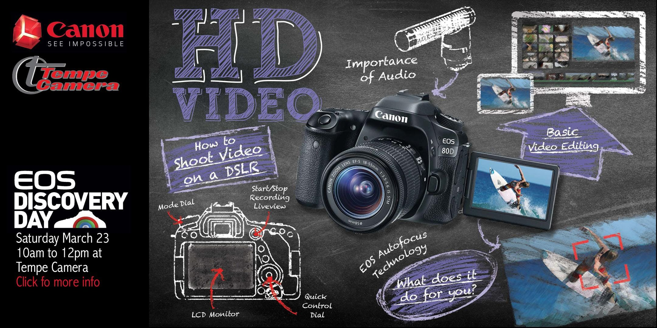 EOS Discovery Day - HD Video: The Essentials of Shooting Video with a DSLR