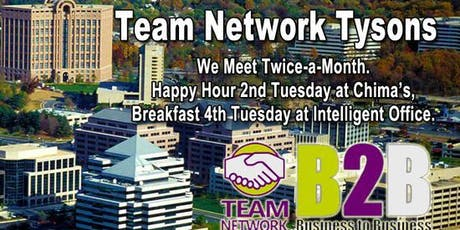 Team Network Tysons Monthly Netfast tickets