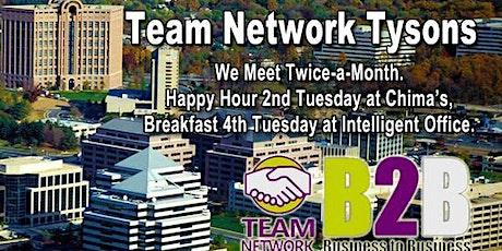 Team Network Tysons Monthly Netfast tickets