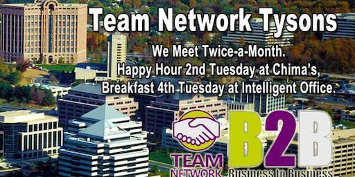 Team Network Tysons Monthly Netfast