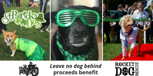 2020 - St. Patrick's Day Dog Parade with Doga