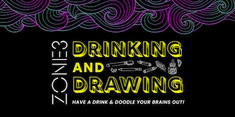 Drinking + Drawing with Brain Arts Organization tickets