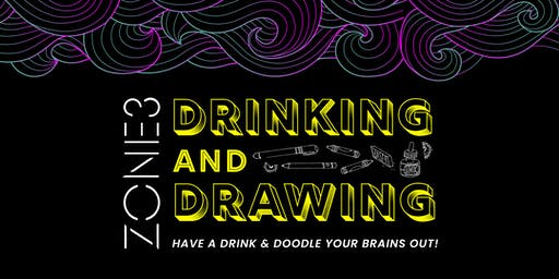 Drinking + Drawing with Mandy Trinh
