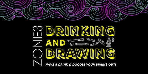 Drinking + Drawing with Allston Pudding