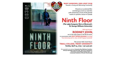 """Film and Discussion: """"Ninth Floor"""""""