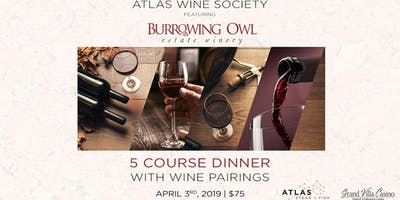 Wine Society Atlas Burnaby (Burrowing Owl Estate Winery)
