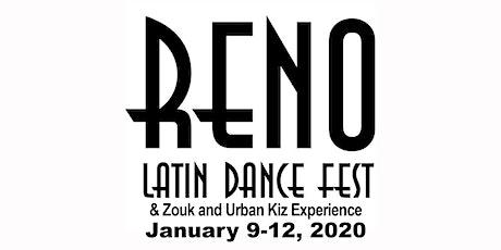 2020 Reno Latin Dance Fest & Zouk and Urban Kiz Experience tickets