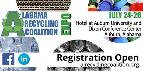 2019 Alabama Recycling Coalition Conference & Expo tickets