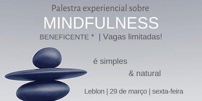 Palestra Experiencial sobre MINDFULNESS - Contribuição Beneficiente