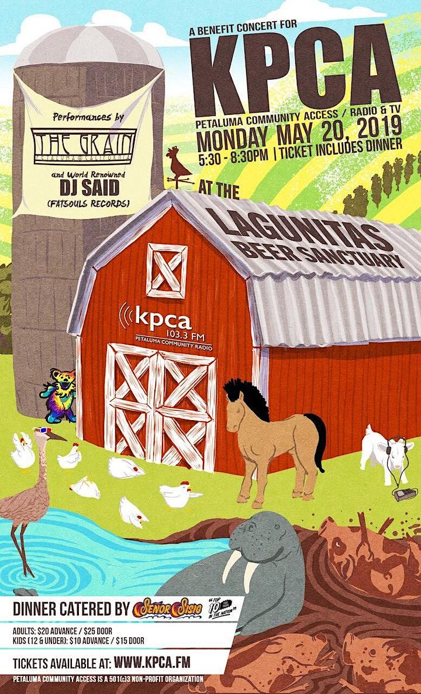 Petaluma Community Access Presents: A Benefit for KPCA image