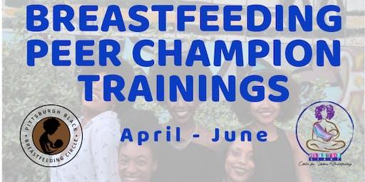 Breastfeeding Peer Champion Trainings