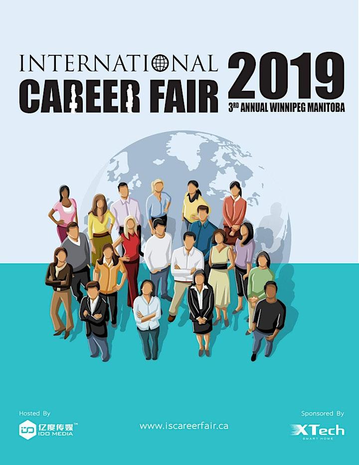 Third Annual Winnipeg International Career Fair 2019 image