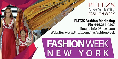 FASHION WEEK NY DESIGNER SHOW PACKAGE $700 (SEPTEMBER NY FASHION WEEK SEASON) 20 LOOKS tickets