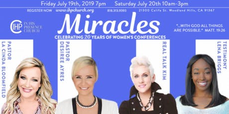 Miracles 2019 tickets