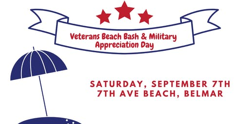 2019 Belmar Veterans Beach Bash & Military Appreciation Day