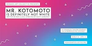 Mr. Kotomoto Is Definitely Not White