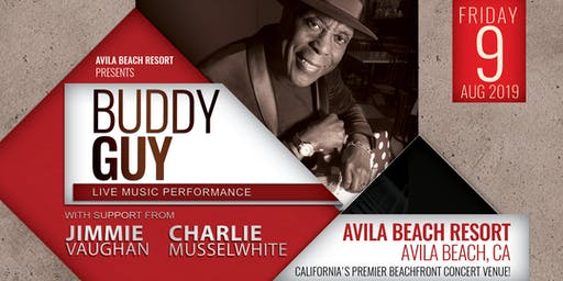 BUDDY GUY with Jimmie Vaughan and Charlie Musselwhite