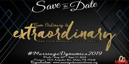 Marriage Dynamics 2019 MDNF