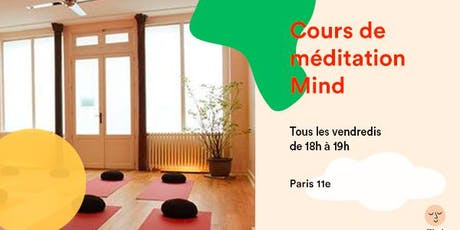 Cours de méditation Mind  billets