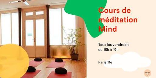 Cours de méditation Mind