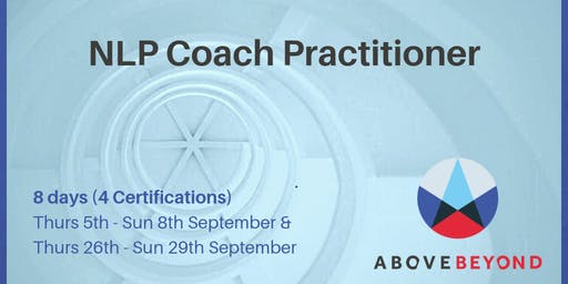 Full NLP Coach Practitioner Certification