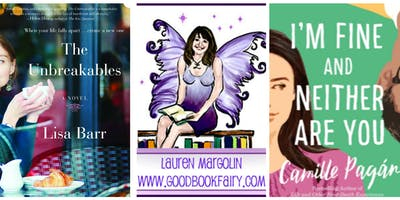 GOOD BOOK FAIRY with AUTHORS LISA BARR and CAMILLE NOE PAGAN