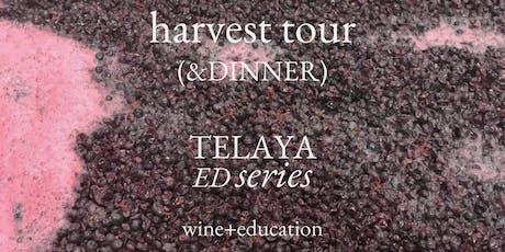 9/15 Harvest Tour (& Dinner) tickets