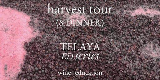 9/15 Harvest Tour (& Dinner)