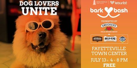 Bark Bash Fayetteville 2019 tickets