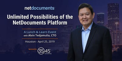 NetDocuments and 3545 Consulting Present: The Unlimited Possibilities of the NetDocuments Platform