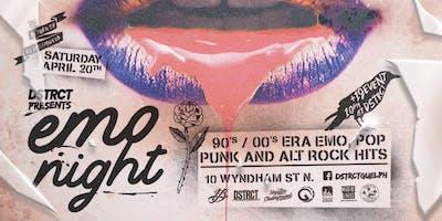 DSTRCT EMO Night: Round 2!