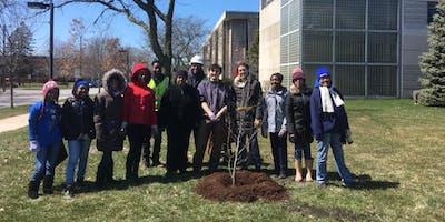 IU Northwest Arborday Tree Planting in Gary, IN