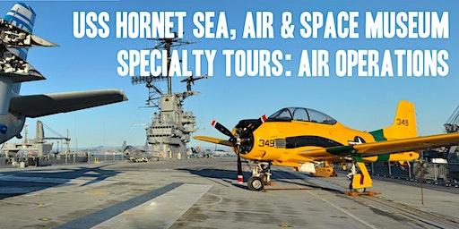 USS Hornet  Aircraft Carrier Air Operations Tour