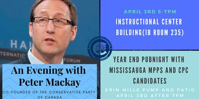 An Evening with Peter McKay