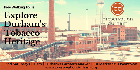 Durham's Tobacco Heritage Walking Tour tickets
