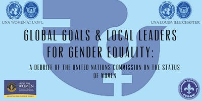 Global Goals & Local Leaders for Gender Equality