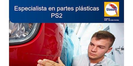 Curso Especialista Partes Plásticas  - PS2 tickets