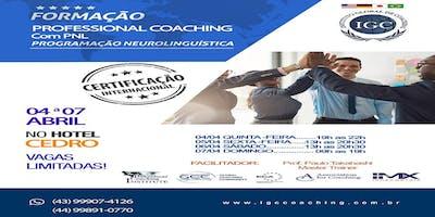 Formação Professional Coaching com PNL em LONDRINA - PR