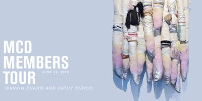 MCD MEMBERS TOUR: KATHY SIRICO AND WANXIN ZHANG