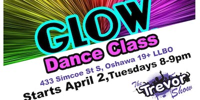 Glow Dance Class Hosted by Trevor