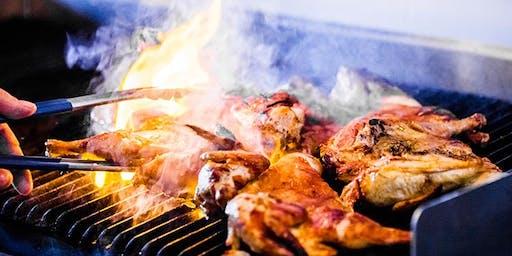 Burnout BBQ Competition