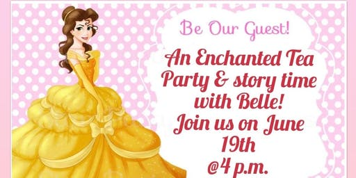 Enchanted Tea and Story Time with Belle