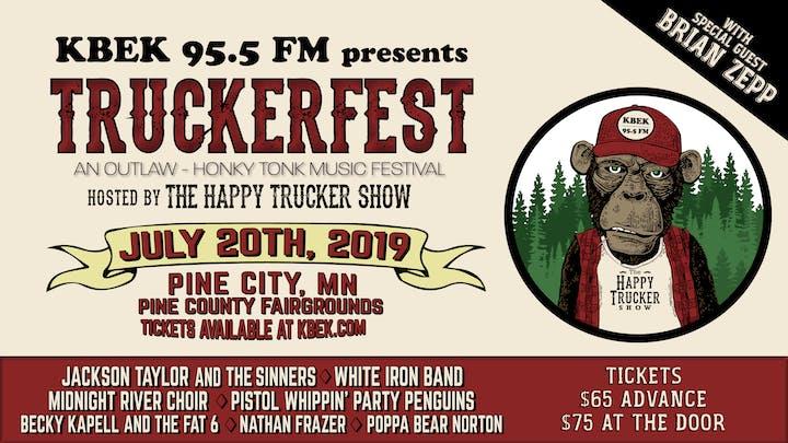 98996ce8 KBEK 95.5 FM presents TRUCKERFEST hosted by The Happy Trucker ...