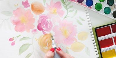 4/27 Floral Watercolor Workshop